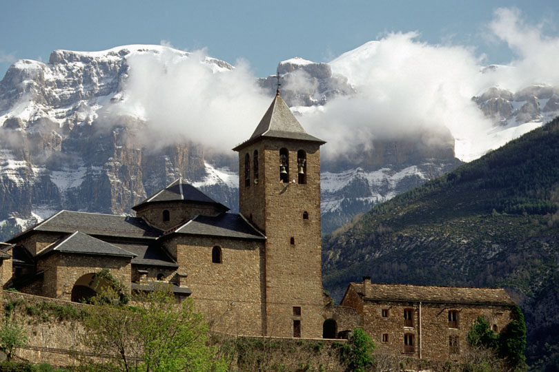 Broto, Pyrenees, Spain