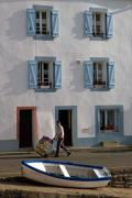 Sauzon harbour, Belle-Ile, Brittany, France