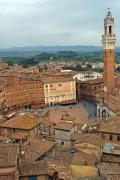 Piazza de Campo, Siena, Tuscany, Italy