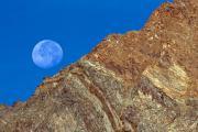 Moon, Gran Paradiso, Italy