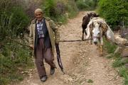 Farmer at Karadut, Turkey