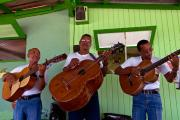 Singers at Cai, Bonaire