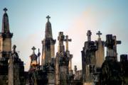 Domme cemetery, Dordogne/ Perigord, France
