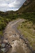 River near Isinlivi, Andes, Ecuador, July 2010