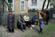 Men, near Biebzra, East-Poland, May 1991