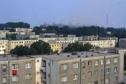 Block of flats, Tulcea, Romania, July 1995