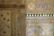Mosaic, Alcázar of Seville, Seville, Andalucia, Spain