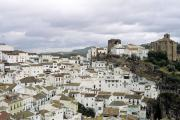 White village of Andalucia, Andalucia, Spain