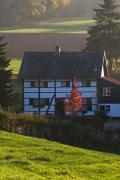 Half timbered house, Rott, South-Limburg, The Netherlands