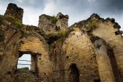 Castle ruin, Valkenburg, South-Limburg, The Netherlands
