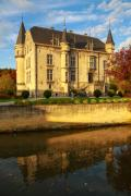 Schaloen castle, Oud-Valkenburg, South-Limburg, The Netherlands