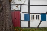 Half timbered house, Camerig, South-Limburg, The Netherlands