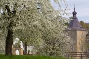 Genhoes castle, Oud-Valkenburg, South-Limburg, The Netherlands