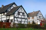 Half timbered house, Plaat, South-Limburg, The Netherlands