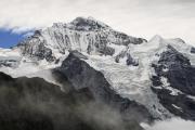 Jungfrau, view from Männlichen, The Bernese Oberland, Switserland