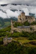 Valère basilica, Sion, Valais, Switserland