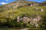 Hauterives, Tarn valley, Cévennes, France, April 2016