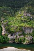 Castelbouc, Tarn valley, Cévennes, France, April 2017